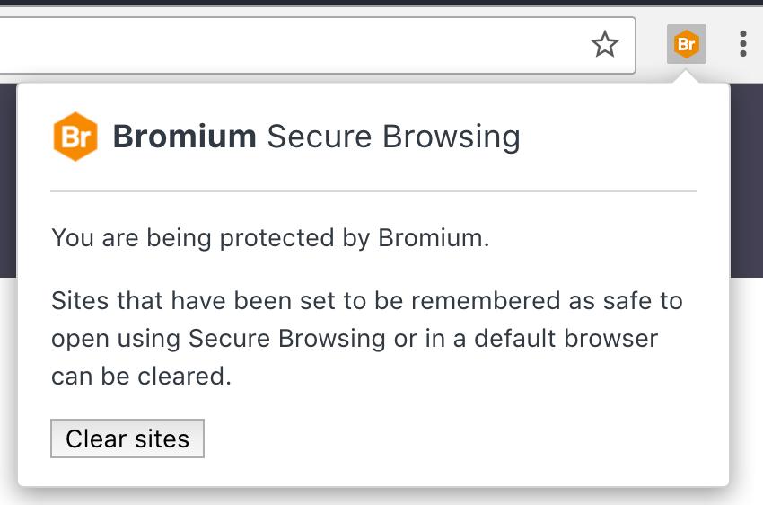 Bromium Secure Browsing [Extension]