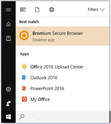 Bromium Secure Browser [Application]