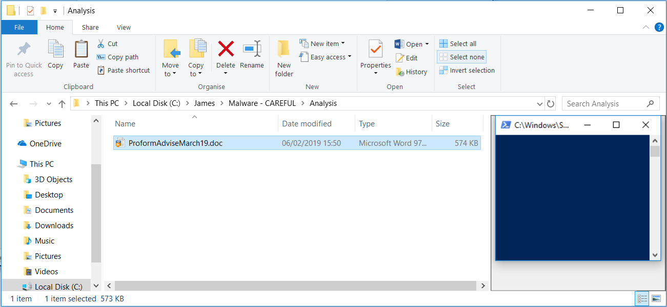 Preview Pain: Malware Triggers in Outlook Preview Without