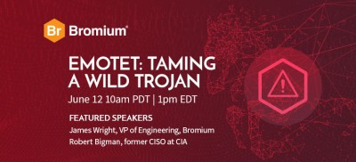 Bromium Answer Your Emotet Questions from the webinar, Emotet: Taming a Wild Trojan